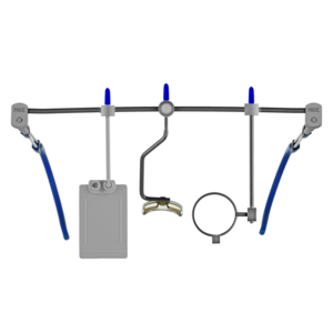 MEC glas Ohrbügel